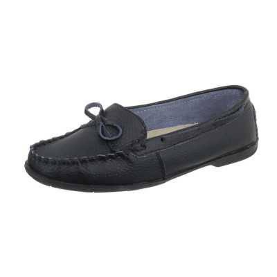Mokassins für Damen in Schwarz