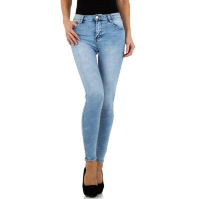 High Waist Jeans für Damen in Blau