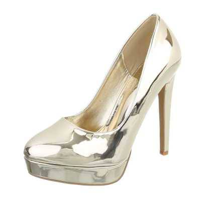 High Heel Pumps für Damen in Gold