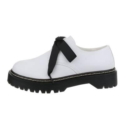 Schnürer für Damen in Weiß und Schwarz