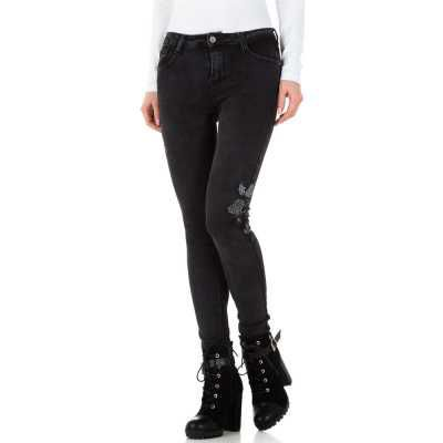 Skinny Jeans für Damen in Grau