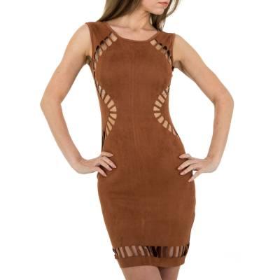 Minikleid für Damen in Braun