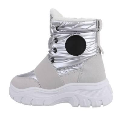 Snowboots für Damen in Silber