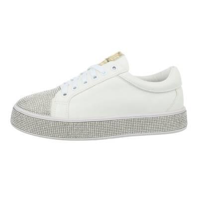 Sneakers low für Damen in Weiß