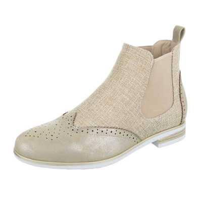 Chelsea Boots für Damen in Gold
