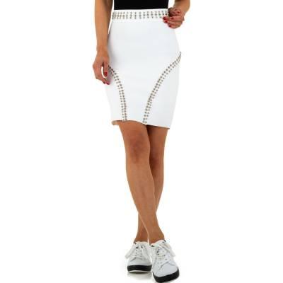 Minirock für Damen in Weiß