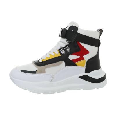 Sneakers high für Damen in Mehrfarbig