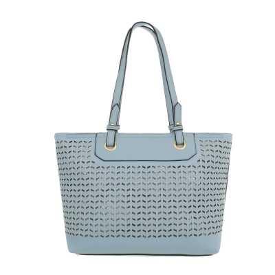 Mittelgroße Damen Tasche Hellblau