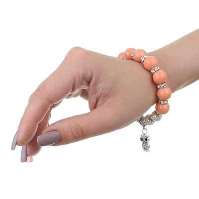 Armband für Damen in Orange