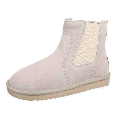 Chelsea Boots für Damen in Creme