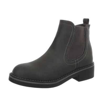 Chelsea Boots für Damen in Grau