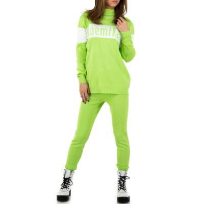 Jogging- & Freizeitanzug für Damen in Grün