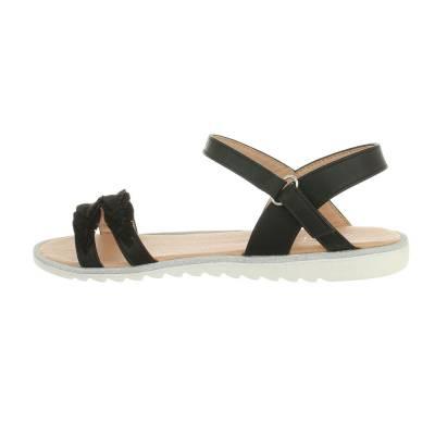 Sandalen für Kinder in Schwarz