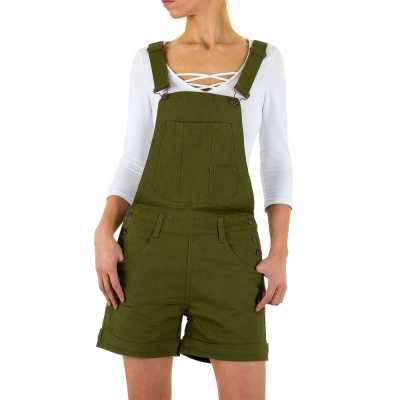 Latzshorts für Damen in Grün