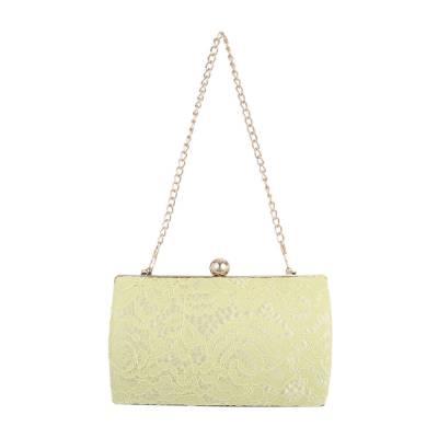 Abendtasche für Damen in Gelb