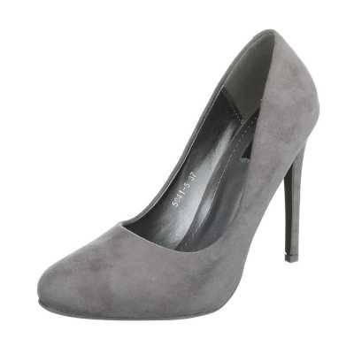 High Heel Pumps für Damen in Grau