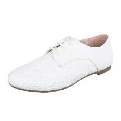 Schnürer für Damen in Weiß