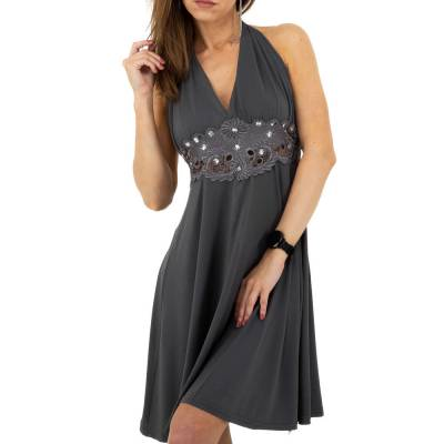Minikleid für Damen in Grau