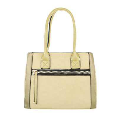 Mittelgroße Damen Tasche Gelb