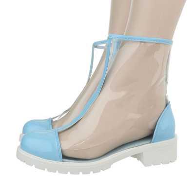 Klassische Stiefeletten für Damen in Blau