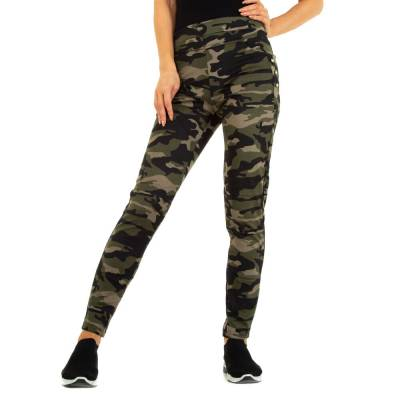 Skinny-Hose für Damen in Grün und Camouflage