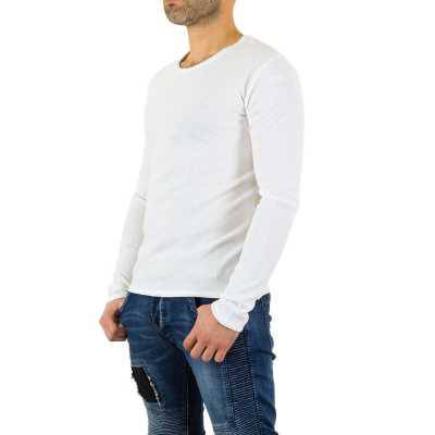 Pullover für Herren in Weiß