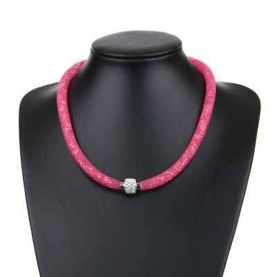 Halskette für Damen in Pink