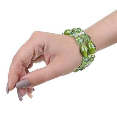 Armband für Damen in Grün