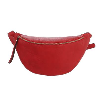 Gürteltasche für Damen in Rot