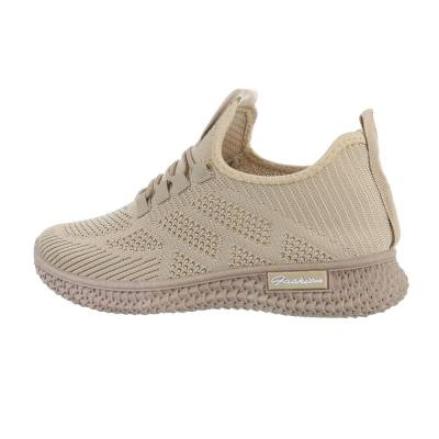 Sneakers low für Damen in Beige