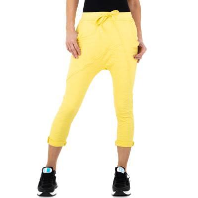 Boyfriend-Hose für Damen in Gelb