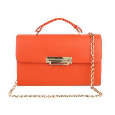 Schultertasche für Damen in Orange