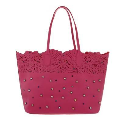Große Damen Tasche Pink