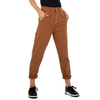 Straight Leg Jeans für Damen in Braun und Braun