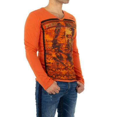 T-Shirt für Herren in Orange