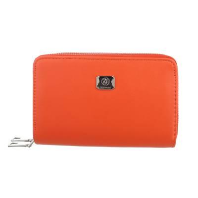 Geldbörse für Damen in Orange