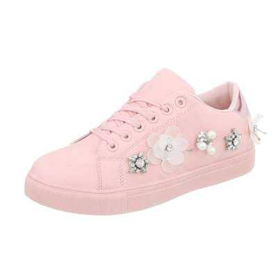 Sneakers low für Damen in Rosa