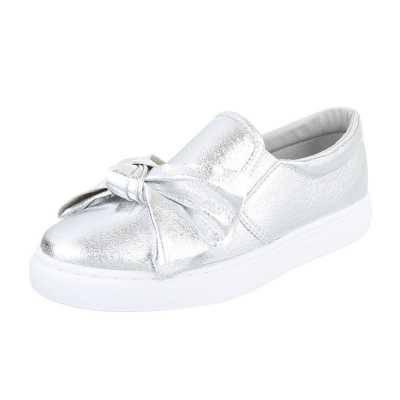 Slipper für Damen in Silber