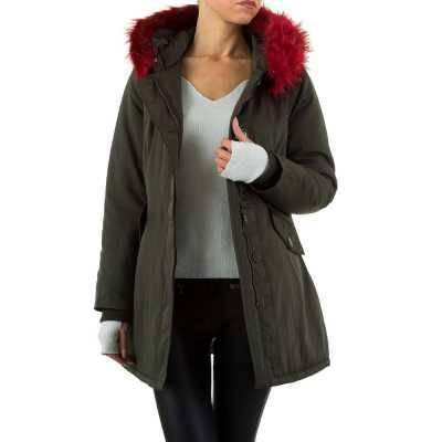 Mantel für Damen in Rot