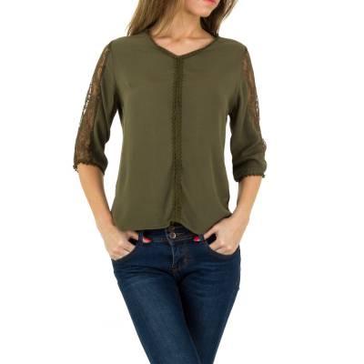 Bluse für Damen in Grün
