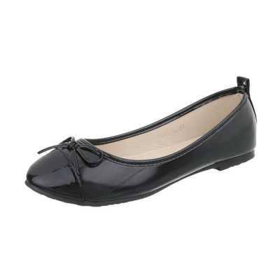 Klassische Ballerinas für Damen in Schwarz
