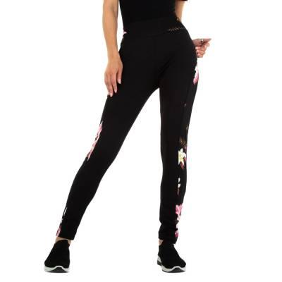 Klassische Leggings für Damen in Pink und Schwarz