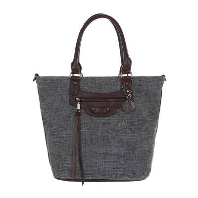 Große Damen Tasche Grau