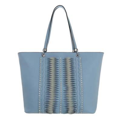 Große Damen Tasche Hellblau