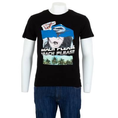 T-Shirt für Herren in Schwarz