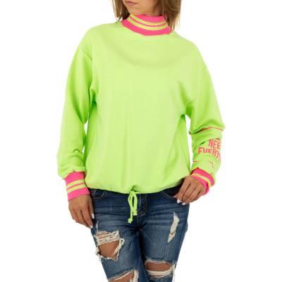 Sweatshirt für Damen in Grün