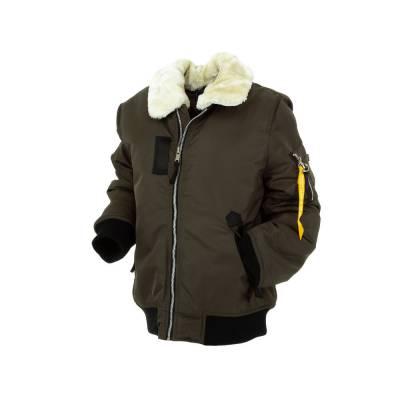 Jacke für Kinder in Braun