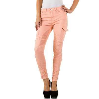 Skinny Jeans für Damen in Orange