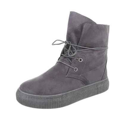 Sneakers high für Damen in Grau
