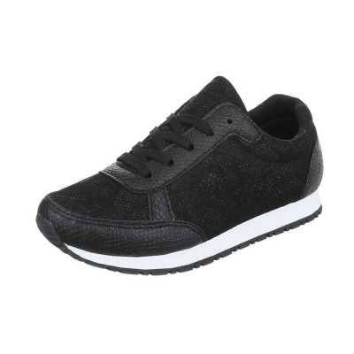 Sneakers low für Damen in Schwarz